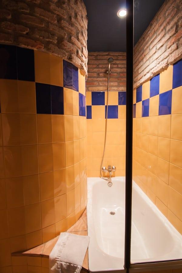 Bañera de la habitación doble duplex