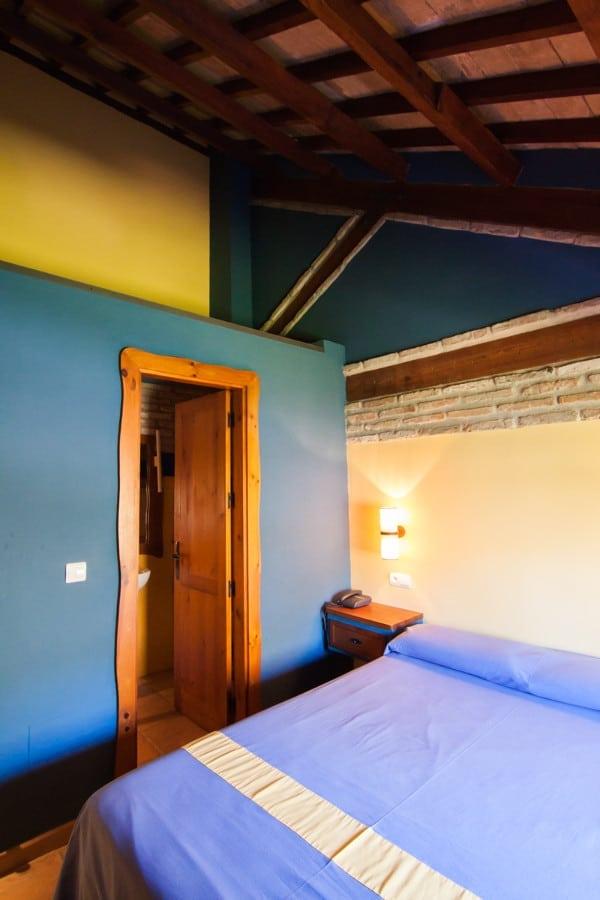 Dormitorio de la habitación doble duplex