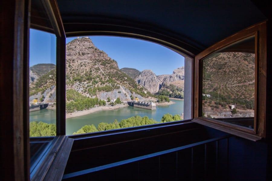 Fabulosas vistas desde el dormitorio de la habitación doble duplex