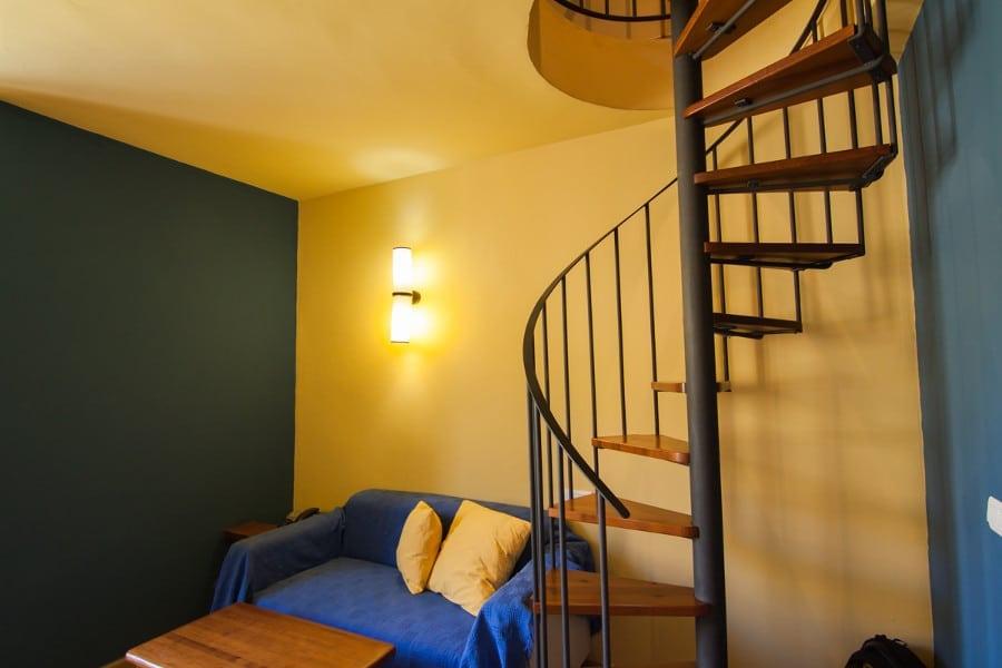 Sofá de la habitación doble duplex