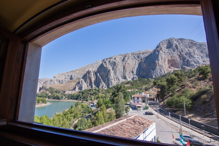 Maravillosas vistas a La Garganta