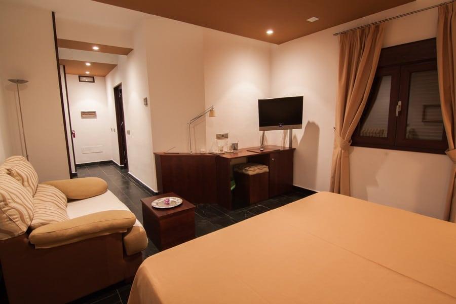 Interior de la habitación junior suite