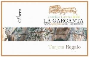 Tarjeta regalo de La Garganta