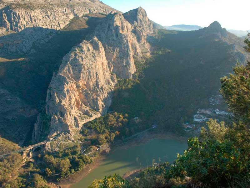 Vistas del Desfiladero de los Gaitanes | LaGarganta.com @ctrlagarganta
