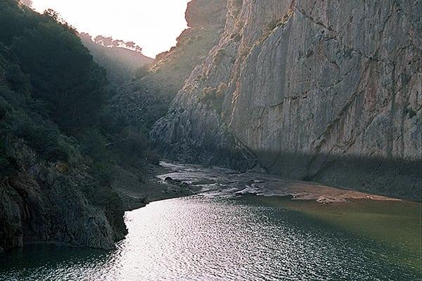 Maravillosas vistas del Desfiladero de Los Gaitanes