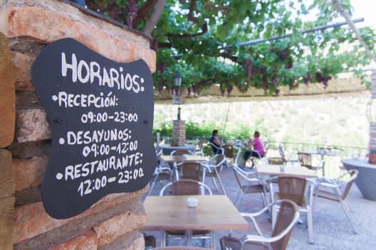 Horarios 2 Complejo Turístico La Garganta tu balcón al Caminito del Rey | @lagarganta.com