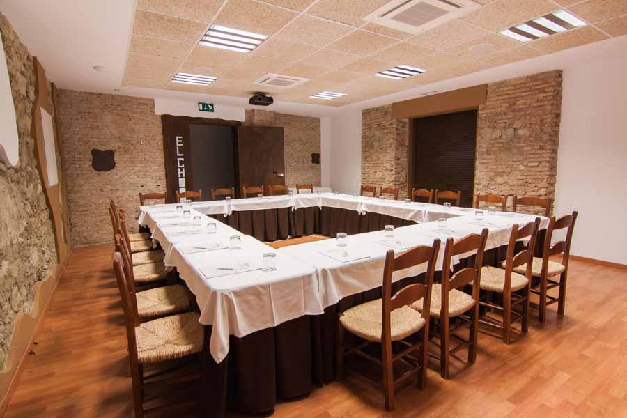 Sala de reuniones Complejo Turistico La Garganta, Tu balcón al Caminito del Rey | @lagarganta.com
