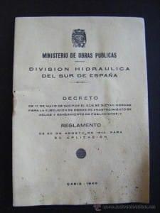 El caminito del rey decreto de la División Hidráulica | LaGarganta.com @ctrlagarganta