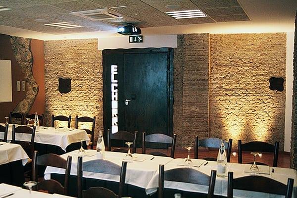 Sala de reuniones del Complejo Turístico La Garganta
