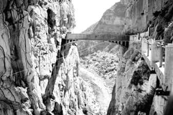 El caminito del rey Puente del Ingeniero Eugenio Rivera | LaGarganta.com @ctrlagarganta