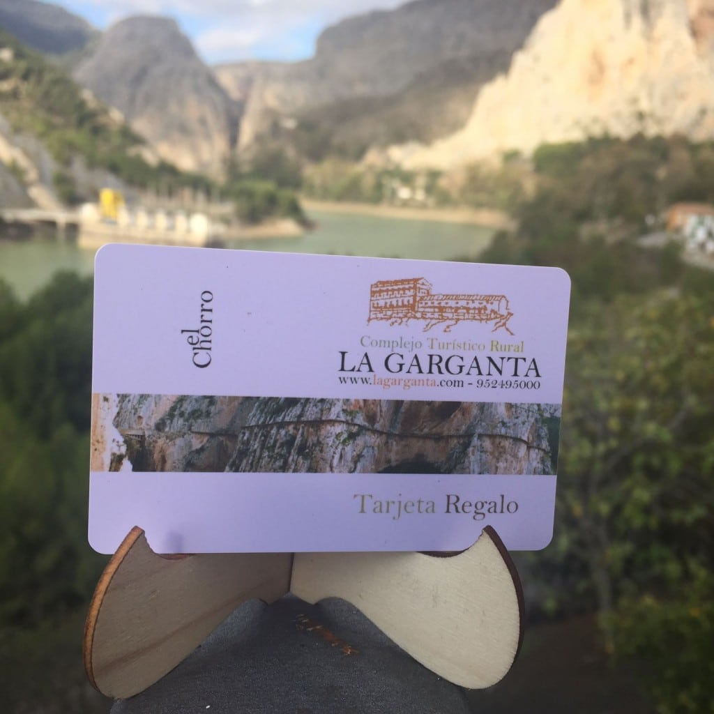 Tarjeta Regalo CTR La Garganta