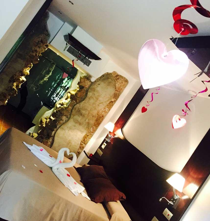 Decoración especial San Valentín