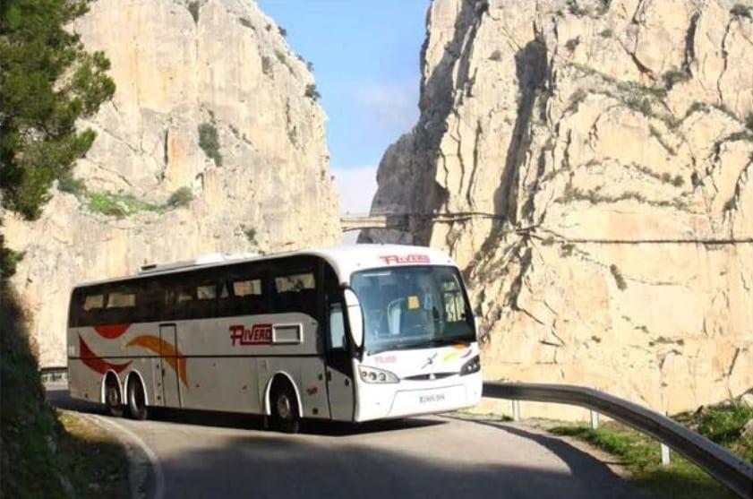 """Servicio de autobuses """"lanzadera"""" CTR La Garganta"""