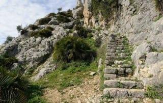 Escalera Árabe en El Chorro