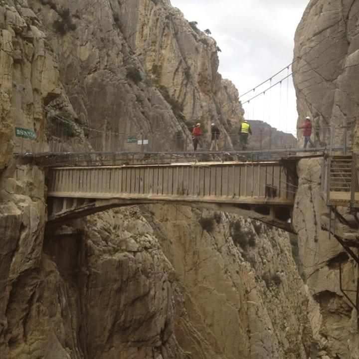 Puente de El Caminito del Rey
