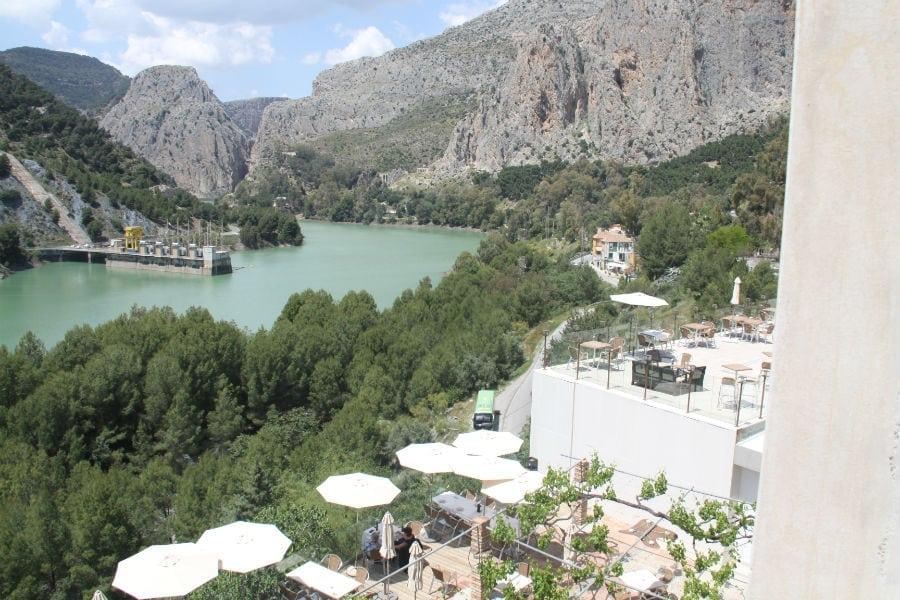 Vista terrazas de CTR La Garganta