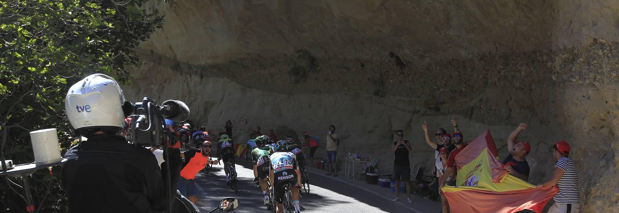 Vuelta a España 2018 por El Caminito del Rey