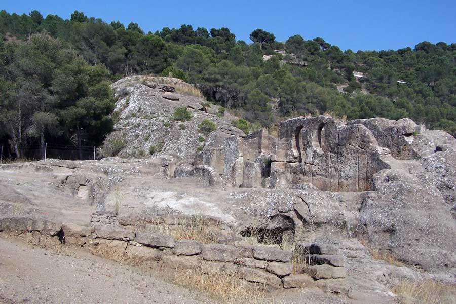 Iglesia Rupestre Ruinas de Bobastro